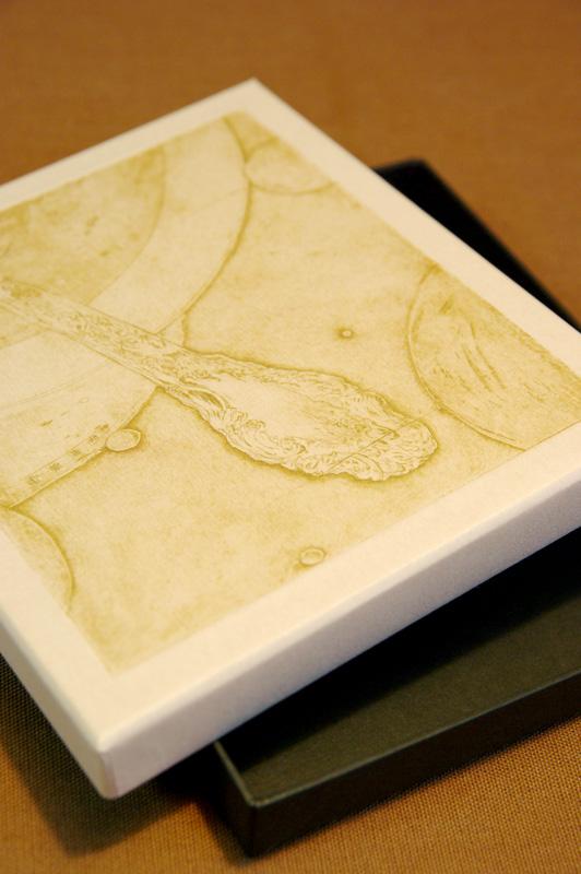 銅版画と貼箱