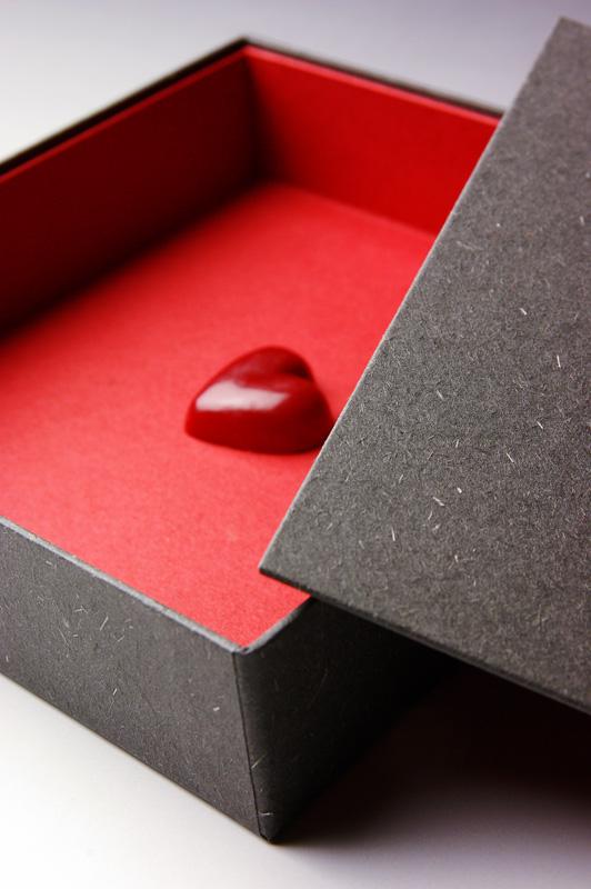 バレンタイン貼箱
