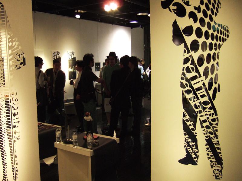 「ART & SOUL」展トークショー