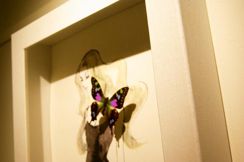 貼箱 with 夜蝶の会 in AQuA - World Butterfly Gathering Night