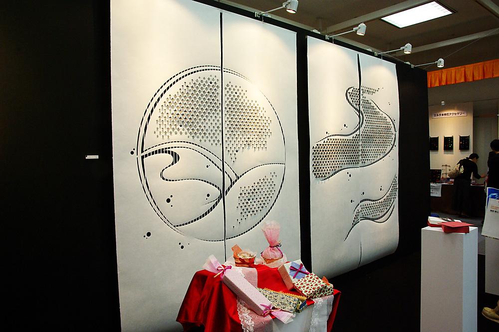 大阪ギフトショー2010秋「wagami」展