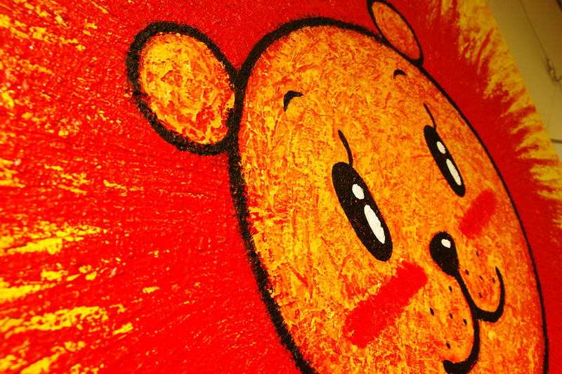 2010 徳治昭童画展in西武八尾店with貼箱