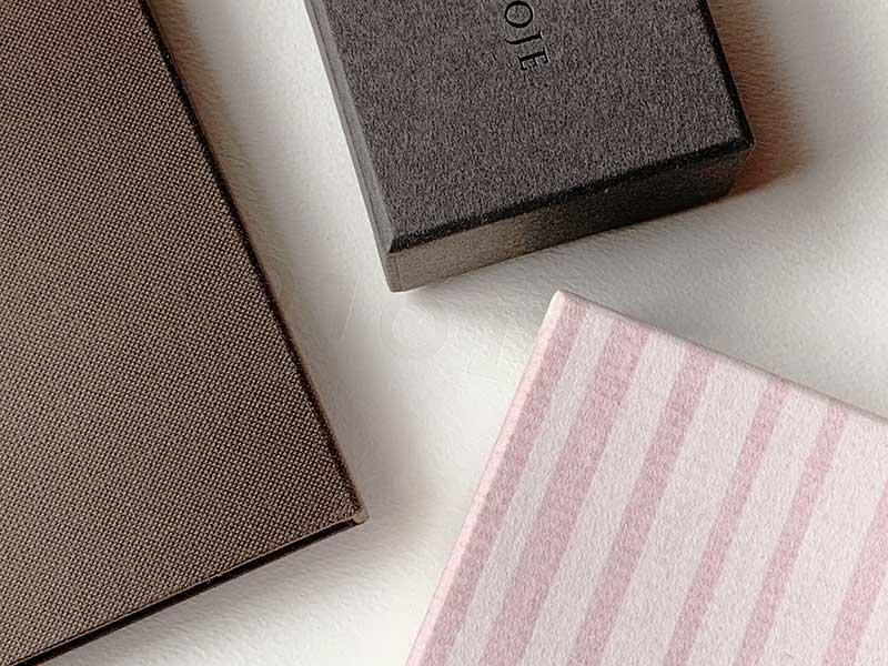 貼り箱は素材が命。パッケージ素材によるメリットとデメリット