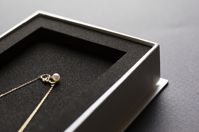 ジュエリー(真珠)の貼箱