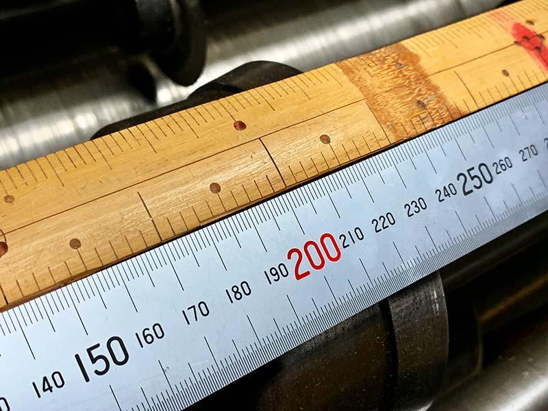 昔と現代では寸法精度が全く違う貼り箱