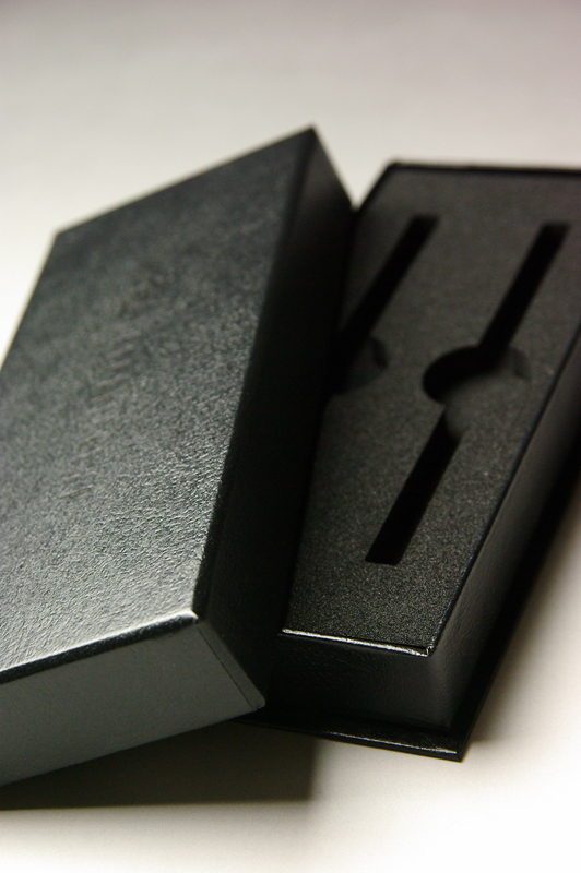 CHOPSTICKSパッケージ(貼箱)CMFデザイン