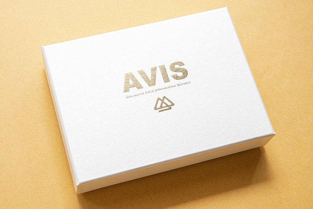 信頼感と高級感のある高級感のある医療機器パッケージ・化粧箱、貼り箱、紙箱、ブランディング、マーケティング