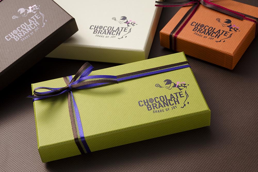 「感謝の気持ち」から生また素敵なチョコレートの貼り箱