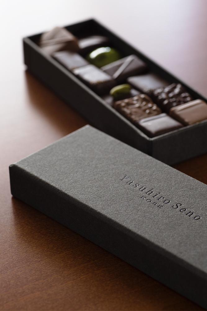 上質なチョコレートを、上質なパッケージで届ける.....。CMFデザインパッケージ、貼箱