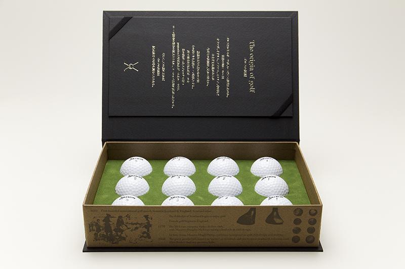 ゴルフボールのセット箱