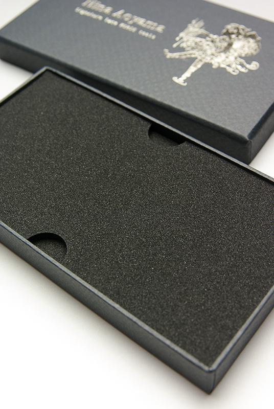 「切り絵ハサミ」の貼箱