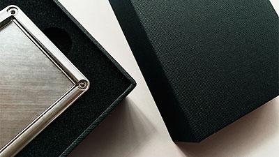 BtoB製品にブランド価値を高める化粧箱、パッケージ