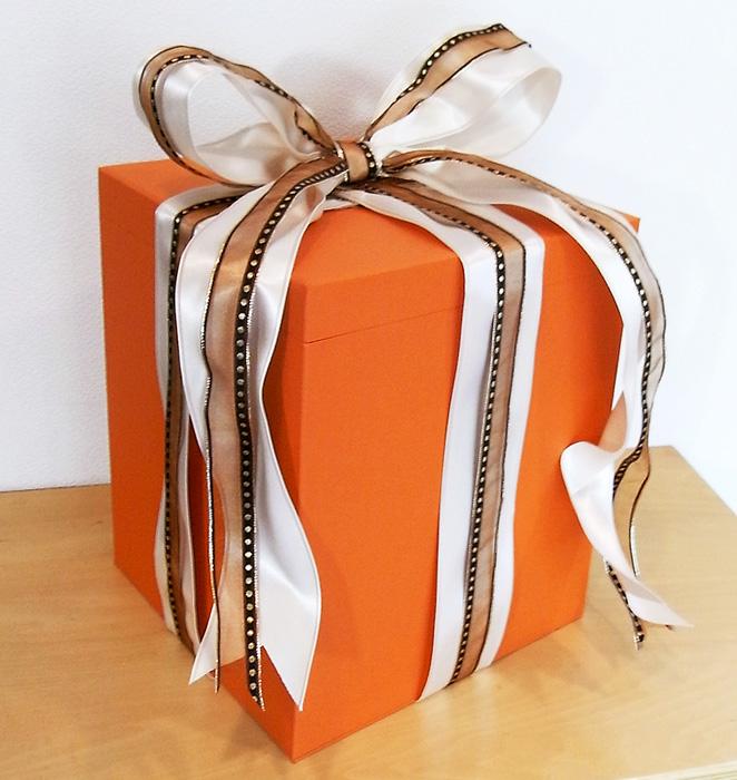 プレゼンテーションに使うパッケージ、紙箱