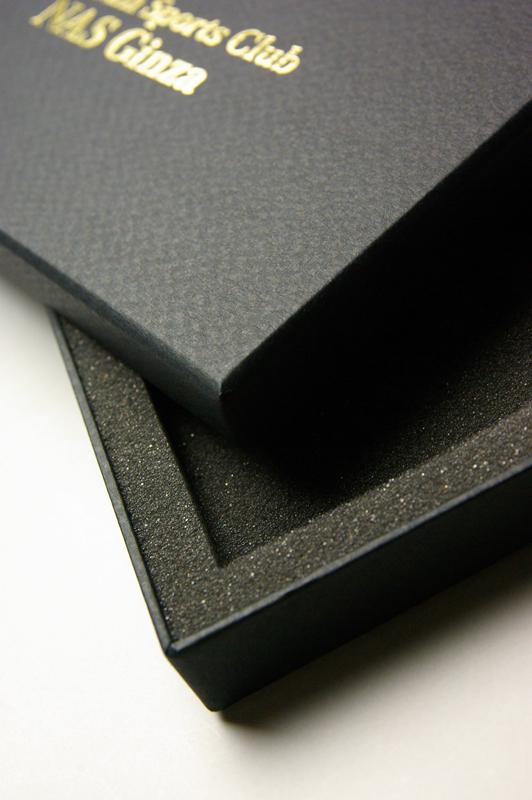プレミアムなチケットボックス、貼り箱